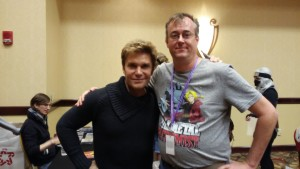 It was great seeing Vic Mignogna again.