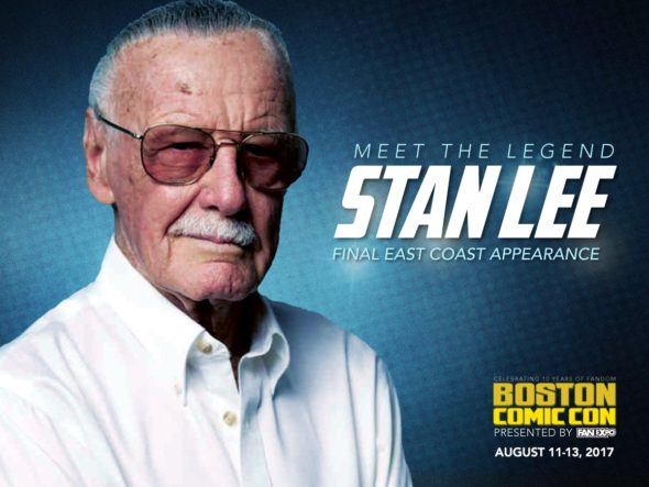 Boston comic con Stan Lee