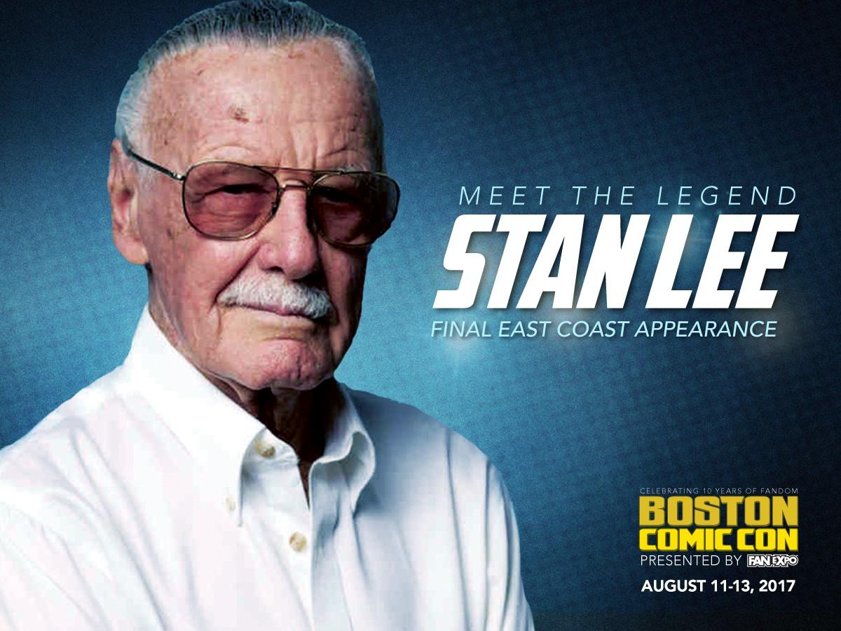 Boston comic con Stan Lee