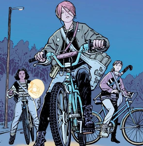 Free Comic Book Day Germany: TX - Paper Girls Signing