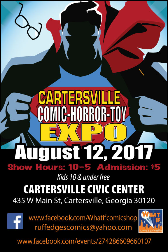 Cartersville Comic, Horror, and Toy Expo