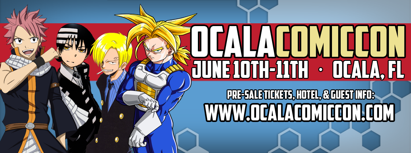 Ocala Comic Con June 2017