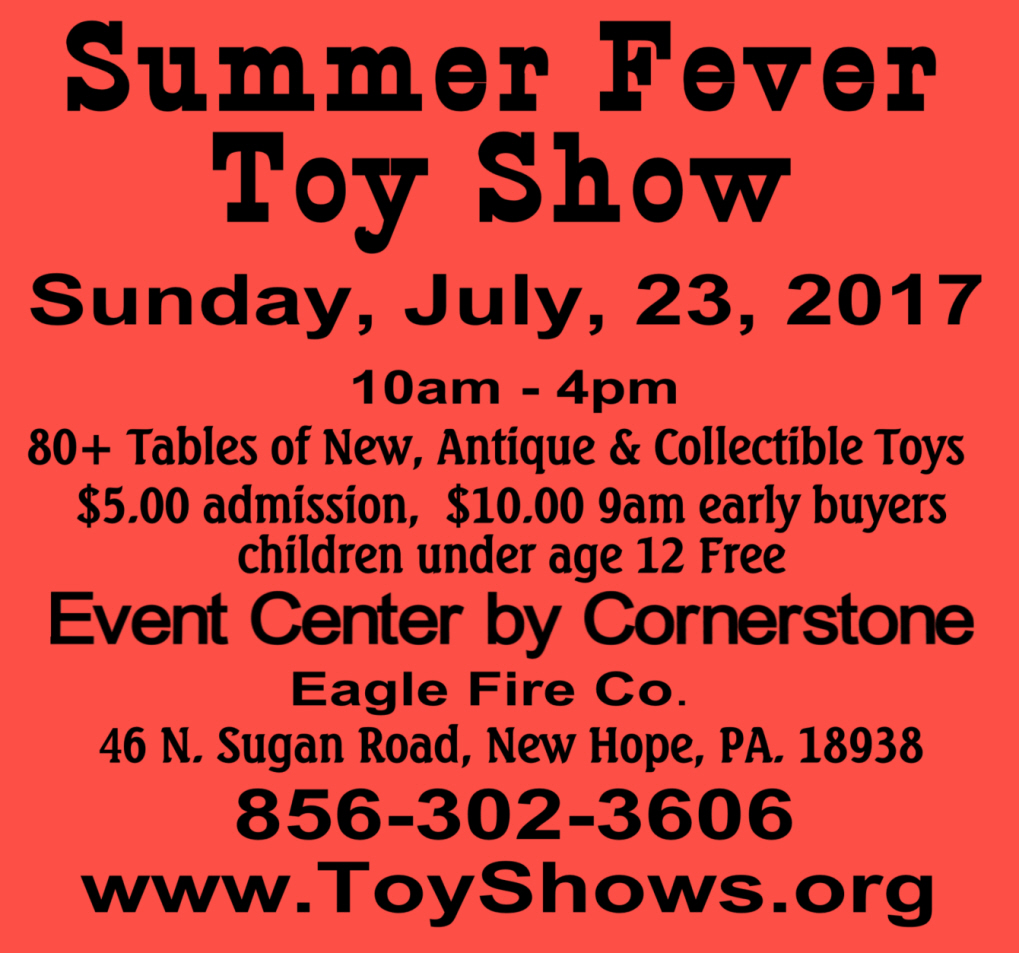 Summer Fever Toy Show 2017 July