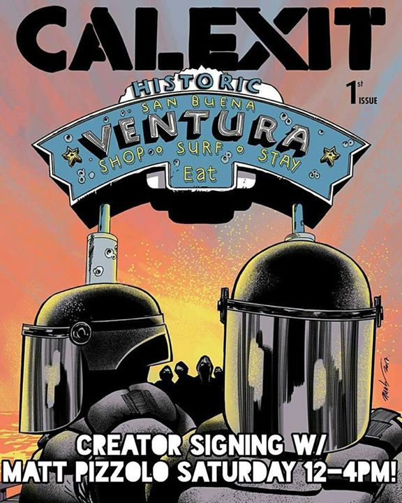 Free Comic Book Day Germany: CA - Calexit #1 Variant Signing