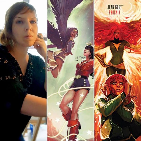 Free Comic Book Day France: CO - Bombshells: United! Signing