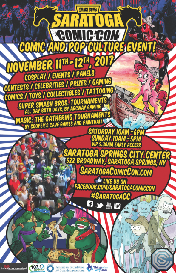 Saratoga Comic Con Flyer
