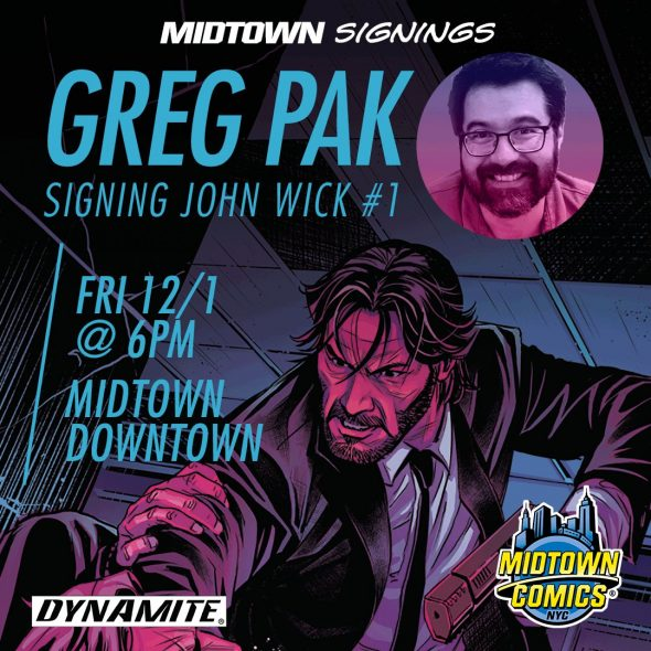 Free Comic Book Day France: NYC - John Wick #1 Signing