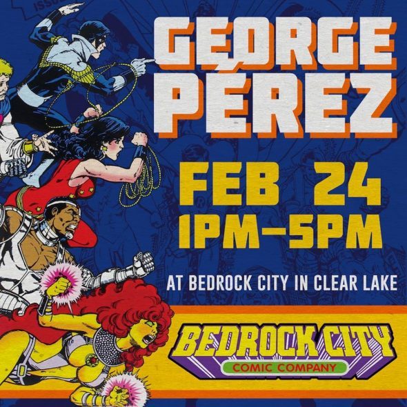 Free Comic Book Day Germany: TX - George Pérez Signing