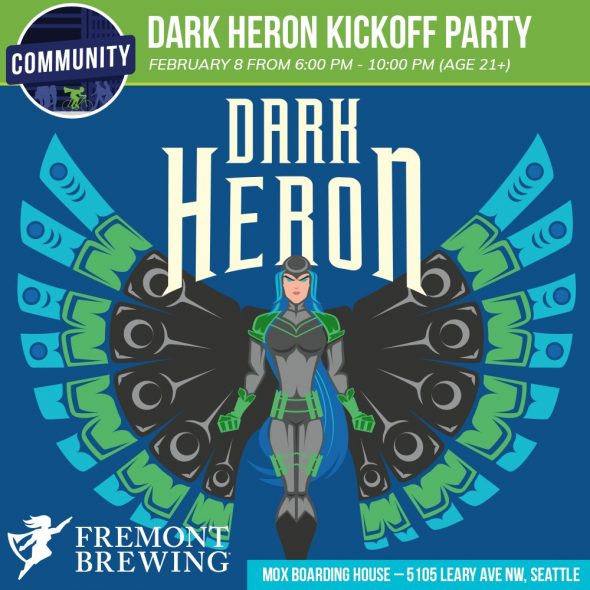 Free Comic Book Day New York City: ECCC 2018 Dark Heron Kickoff Party