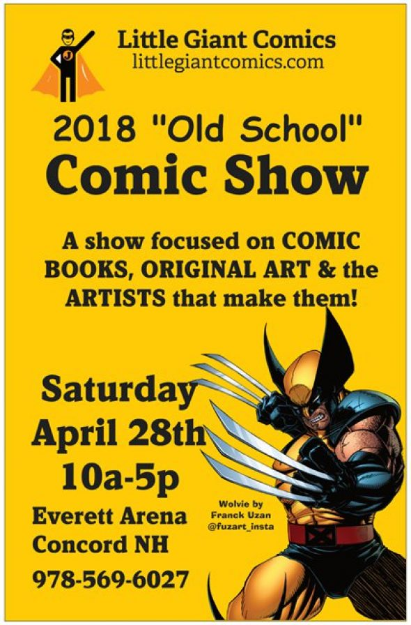 Little Giant Comics Old School COMIC SHOW