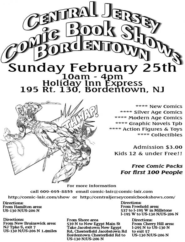 Bordentown Comic Book Show