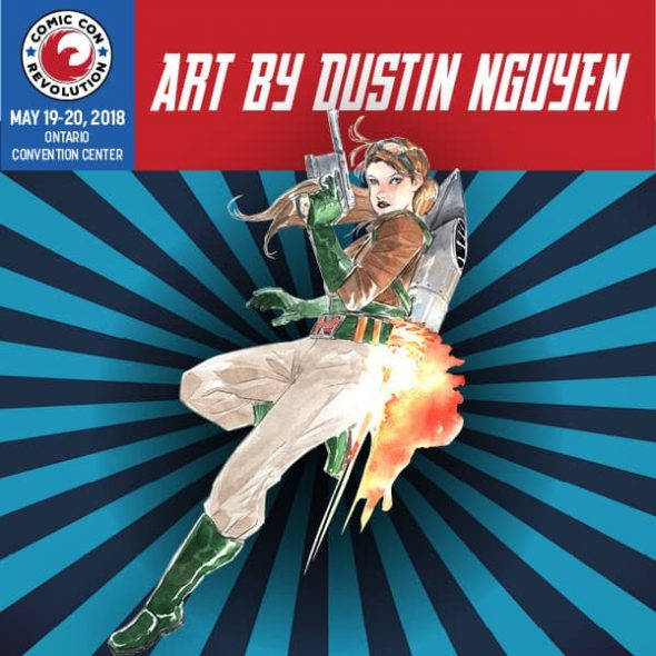 Free Comic Book Day Flyer: CCR 2018 Reveals Exclusive Dustin Nguyen Art