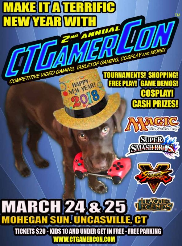 CTGamerCon - Connecticut's competitive esports, video and tabletop gamer convention