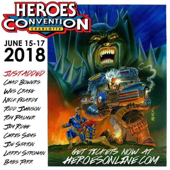 Free Comic Book Day 2018 Krypton: HeroesCon 2018 Announces Further Guests