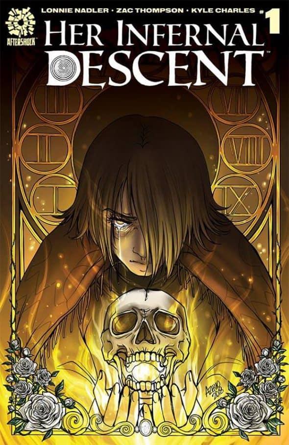 AL – Her Infernal Descent #1 Variant Signing   Convention Scene