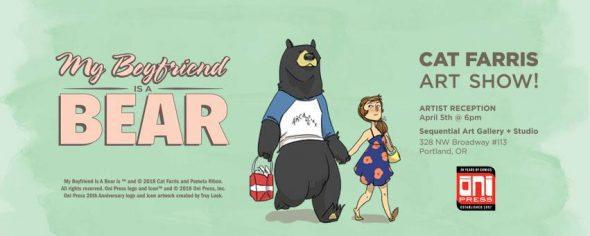 or my boyfriend is a bear art exhibition convention scene