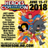 More Guests Added to HeroesCon 2018