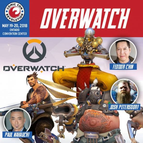 Free Comic Book Day Overwatch: CCR Ontario 2018 Welcomes Lance Henriksen & Overwatch Cast