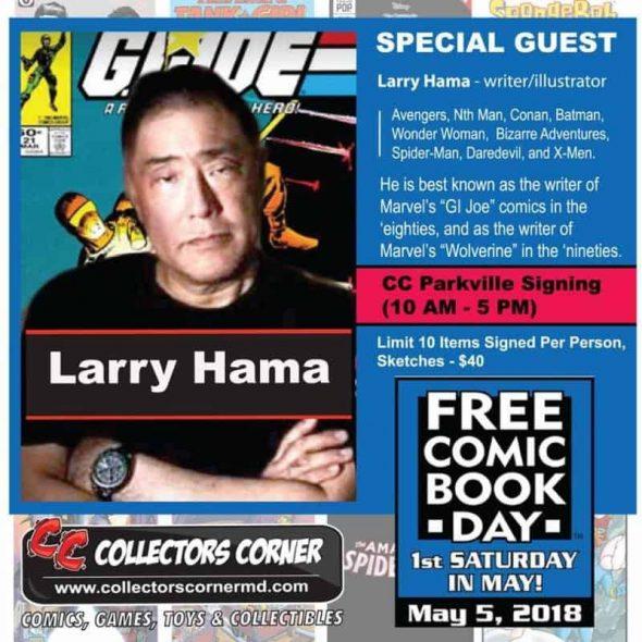 Free Comic Book Day May 2018