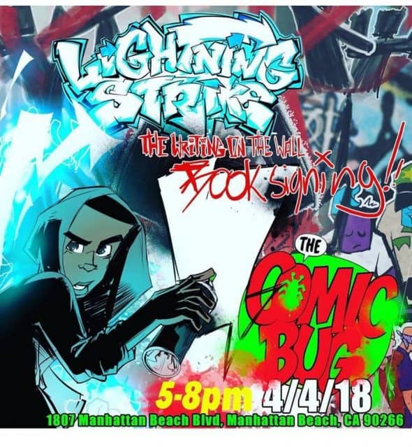 Free Comic Book Day France: CA - Lightning Strikes Signing