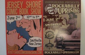 Jersey Shore Comic Book Show with Rockabilly Uprising