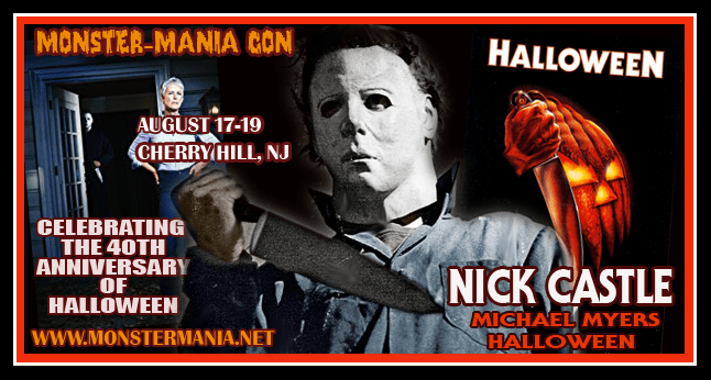 join us at monster mania con 40 as we continue to celebrate the 40th anniversary of john carpenters halloween