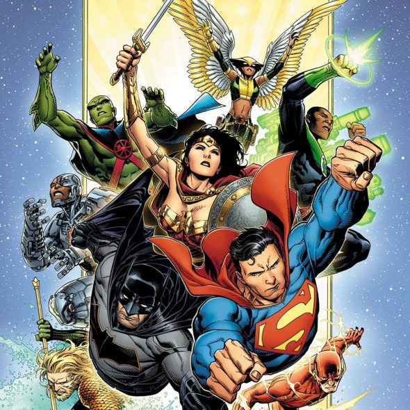 Free Comic Book Day Germany: NY - Justice League #1 Launch Party