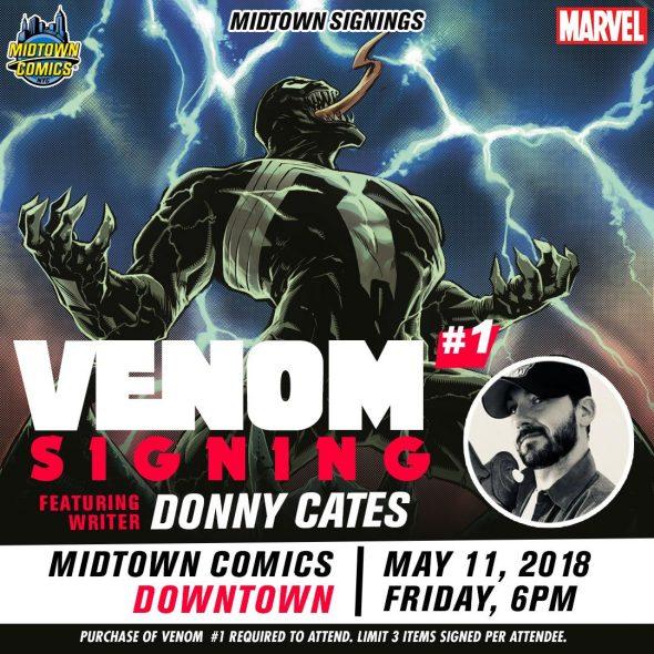 Free Comic Book Day Germany: NYC - Venom #1 Signing