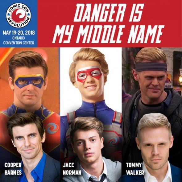 Henry Danger Cast Make 1st Appearance At CCR Ontario 2018