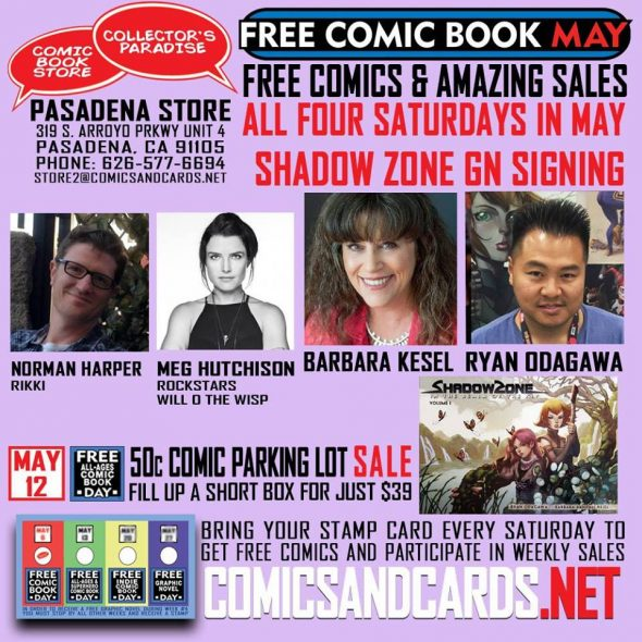 Free Comic Book Day France: CA - Free Comic Book MAY Signing