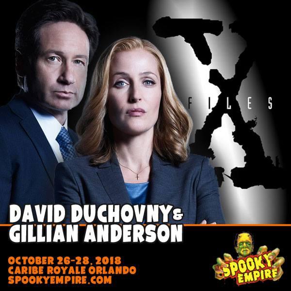 Gillian Anderson Spooky Empire