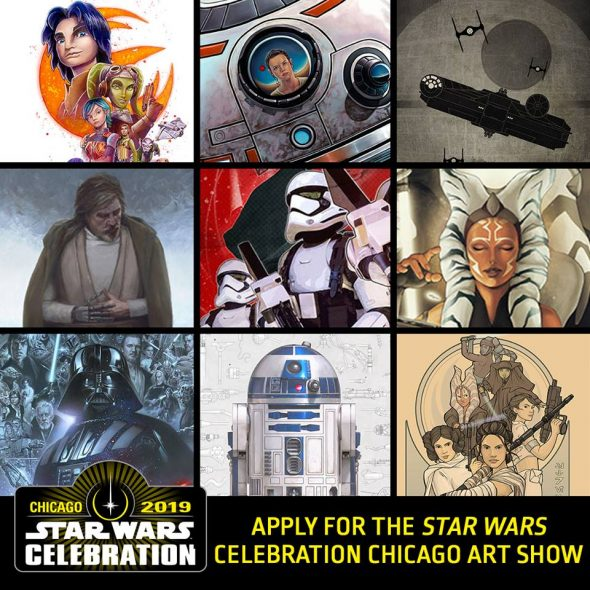 Star Wars Celebration 2019 Art Show Accepting Submissions