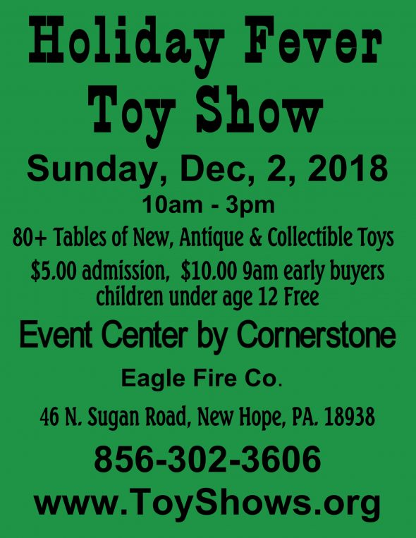 Holiday Fever Toy Show 2018 Image