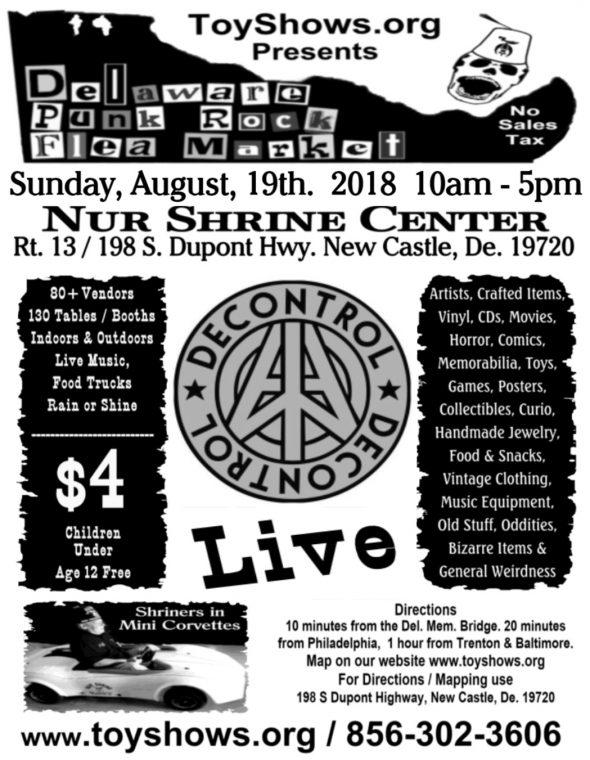 Delaware Punk Rock Flea Market II 2018 Image