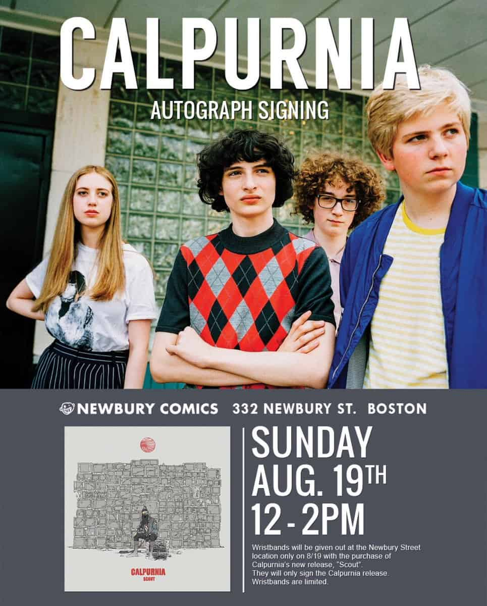 Free Comic Book Day Boston: MA - Calpurnia Signing