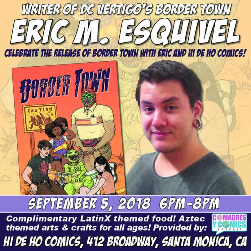 Free Comic Book Day France: CA - Border Town #1 Release Party