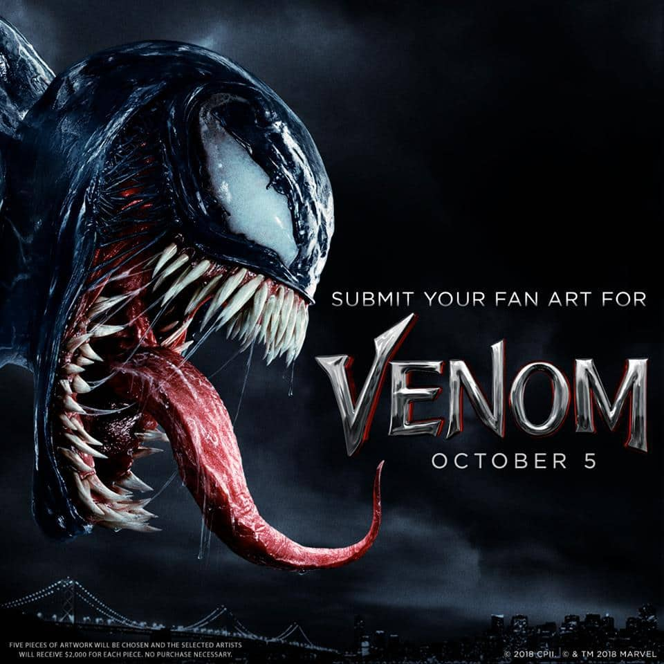 Artists Designers And Illustrators From Around The World Are Invited To Create A One Of Kind Static Artwork Inspired By Venom