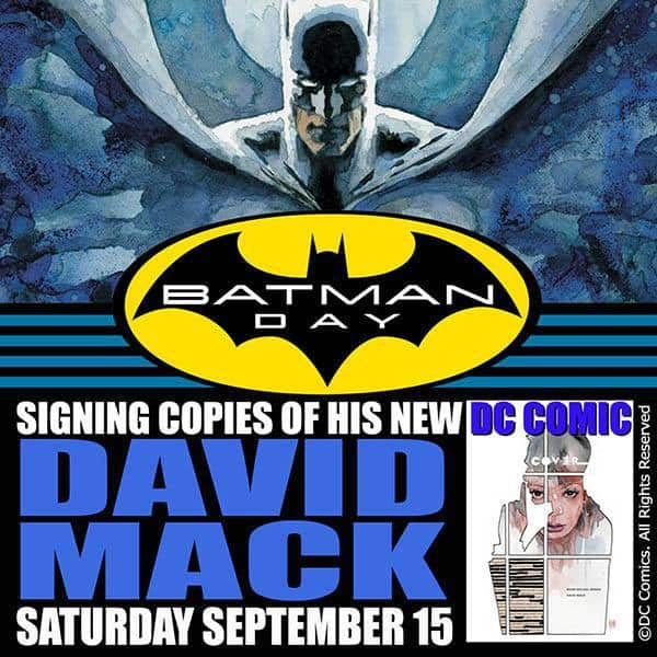 Free Comic Book Day Germany: CA - Batman Day 2018 Signing