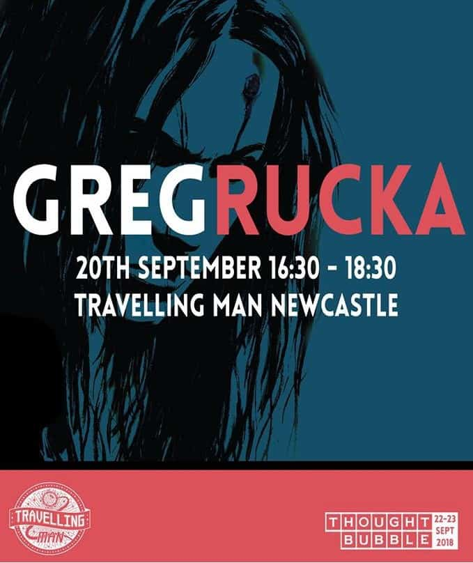 UK - Greg Rucka Signing