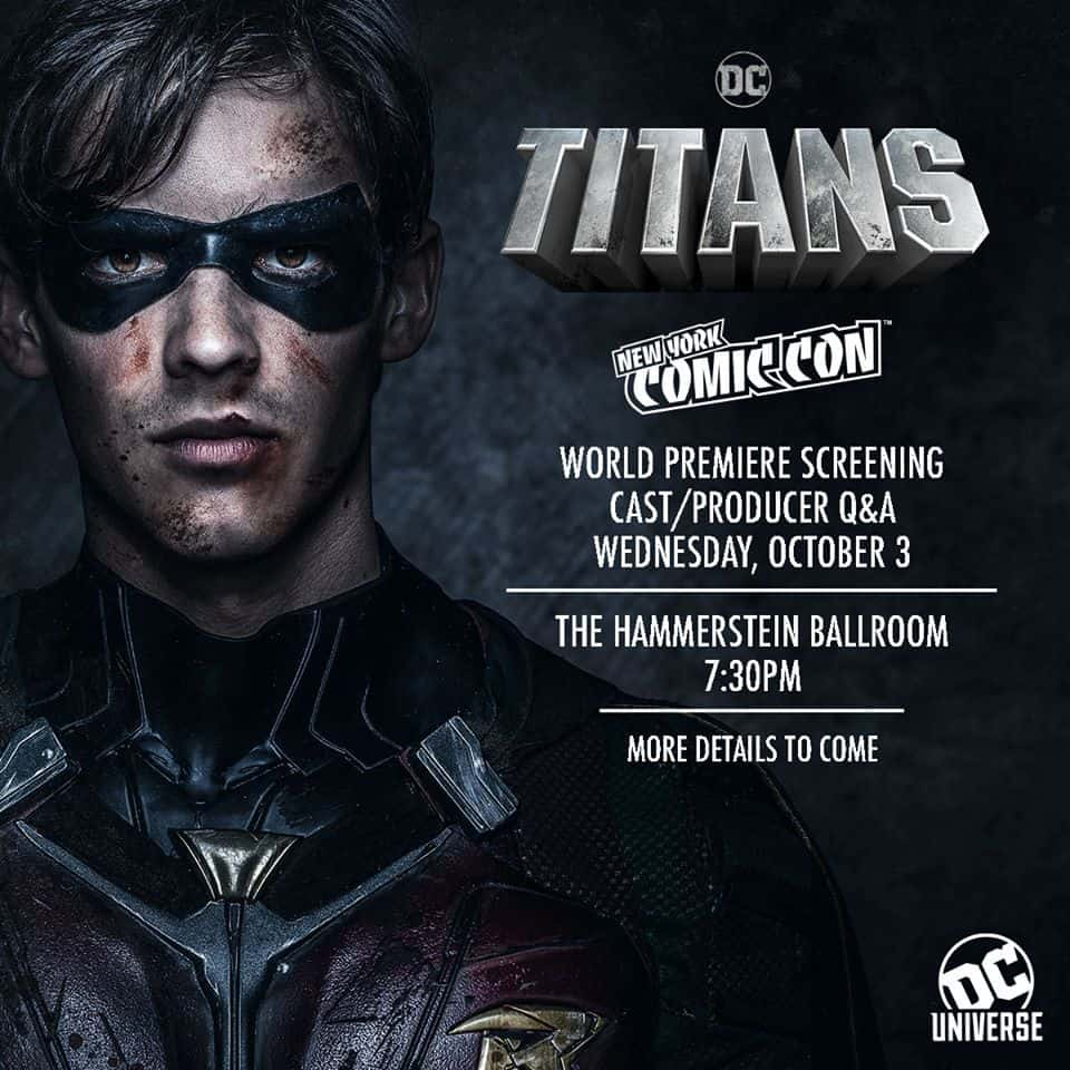 Free Comic Book Day October 2018: NYCC 2018 Kicks Off With Titans World Premiere