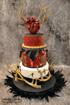 Hannibal wedding cake