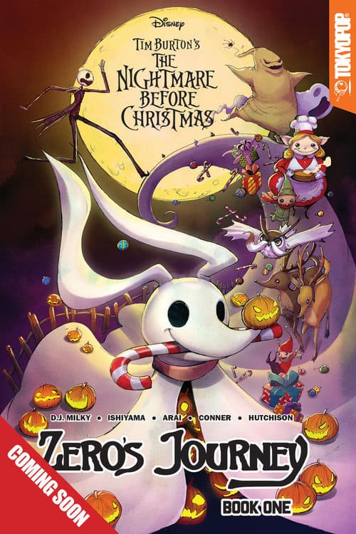 press release join the creative team behind the nightmare before christmas - Nightmare Before Christmas Disney