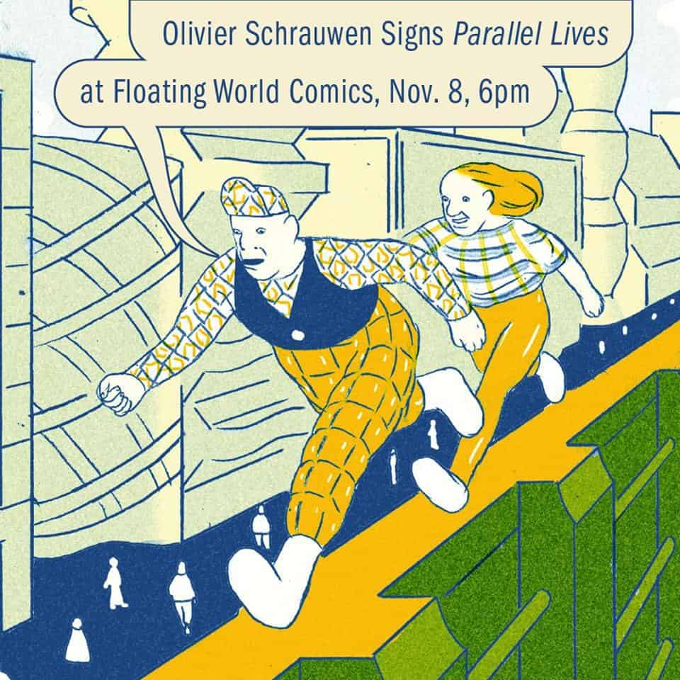 Free Comic Book Day Germany: OR - Parallel Lives Signing