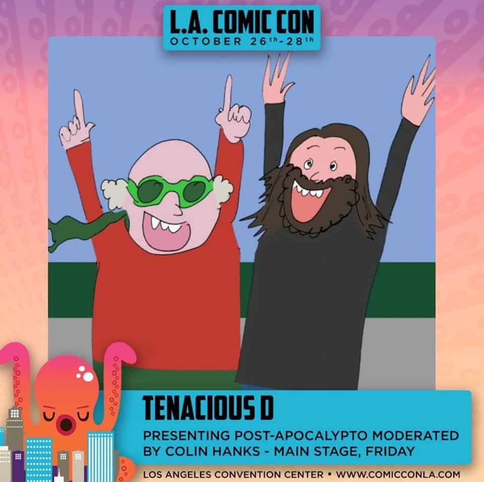 Tenacious D Takes The Stage At Los Angeles Comic Con 2018