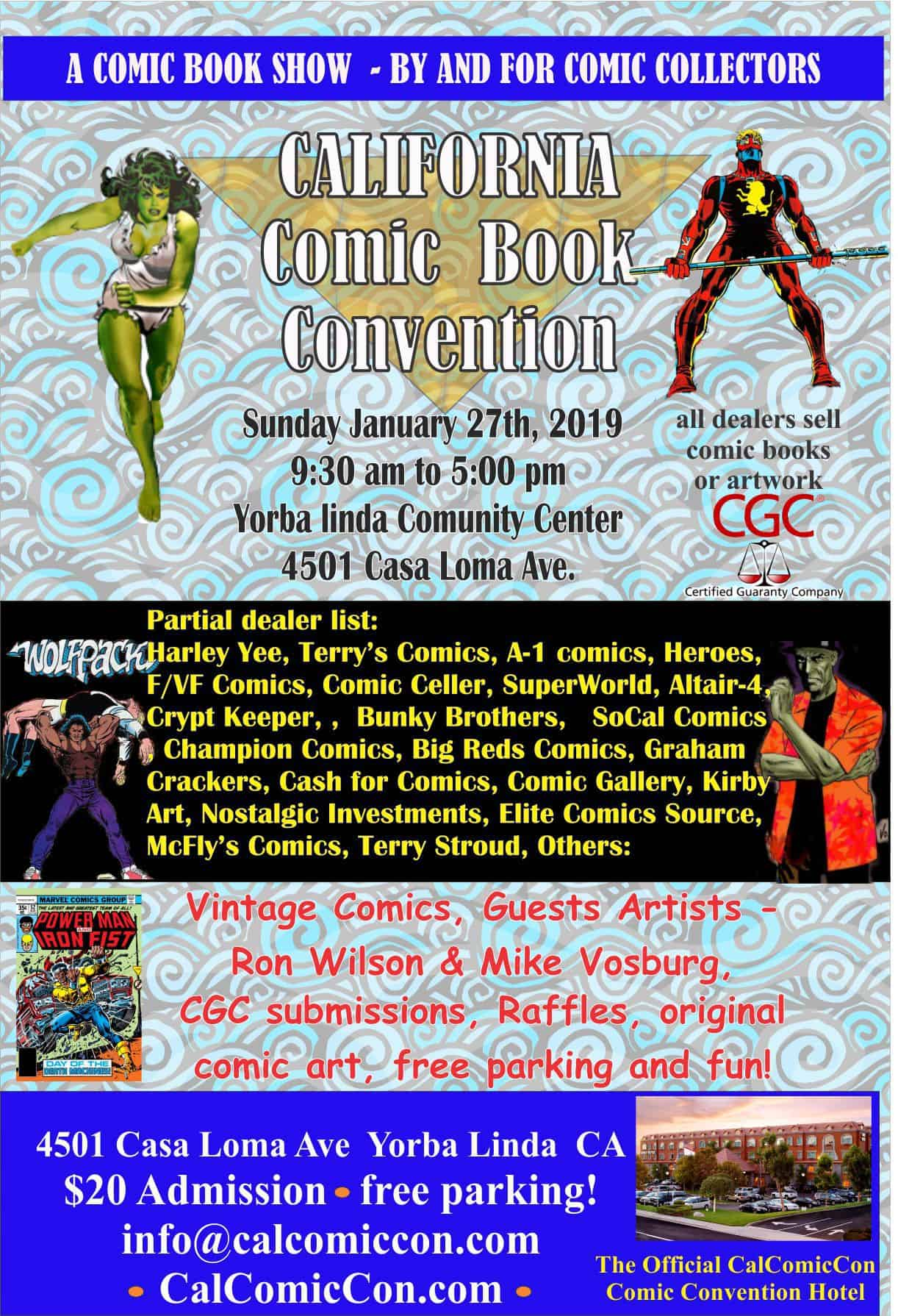 California Comic Convention ( CalComicCon )