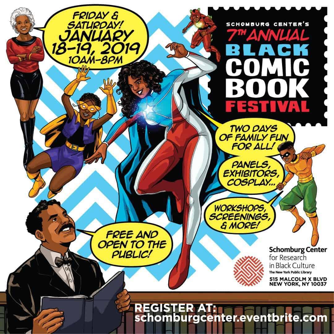 Is Free Comic Book Day Worth It Reddit: Schomburg Center's 7th Annual Black Comic Book Festival