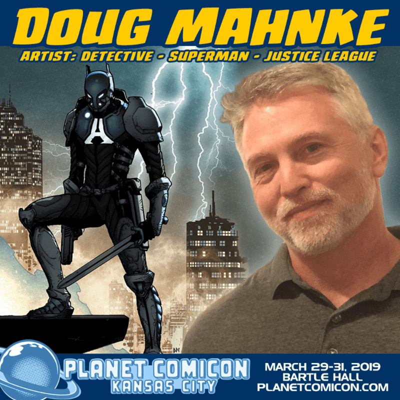Free Comic Book Day Kansas City: Artist Doug Mahnke Makes Rare Appearance At Planet Comicon