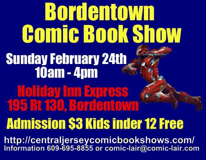 Borden Town Comic book Show