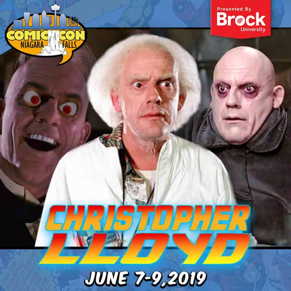 Is Free Comic Book Day Worth It Reddit: Great Scott! Christopher Lloyd Time Travels To Niagara