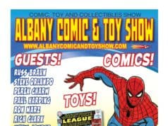 Albany Comic and Toy Show Sunday, March 24th